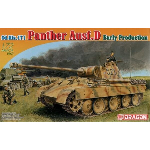 Pz.Kpfw.V Panther D production tardive Sd.Kfz 171