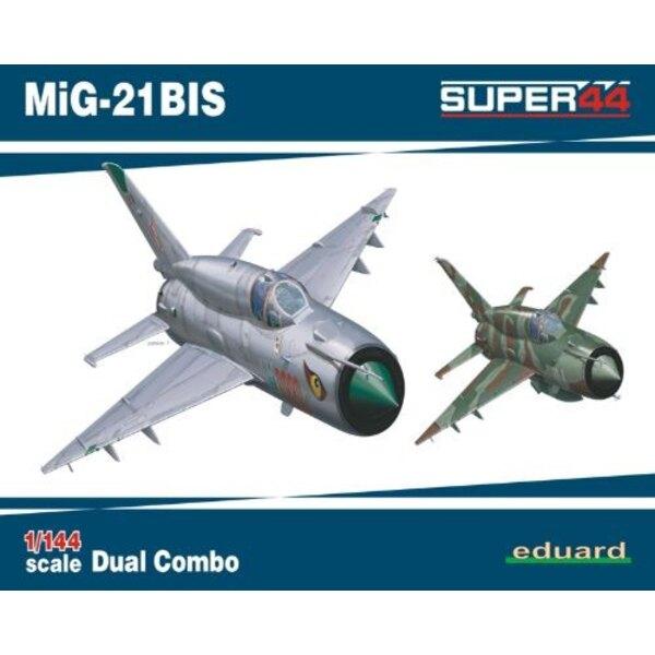Mikoyan MiG-21BIS DUAL COMBO 1/144