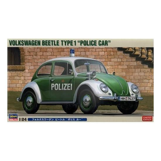 Welly 73150 Voiture Volkswagen Beetle rouge 1/87