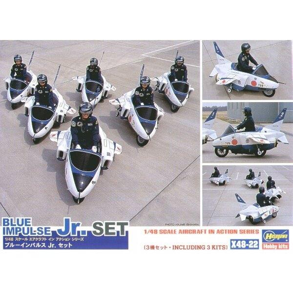 Blue Impulse Junior motorcycle display team
