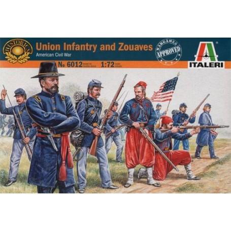 Infanterie de l'Union et Zouaves