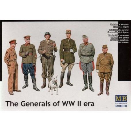 Les généraux de la 2ème GM