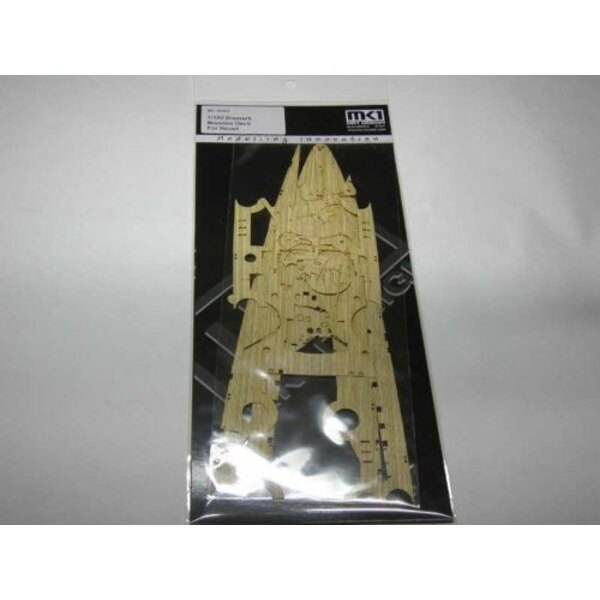 Bismark Wooden Deck (designed to be used with Revell kits)