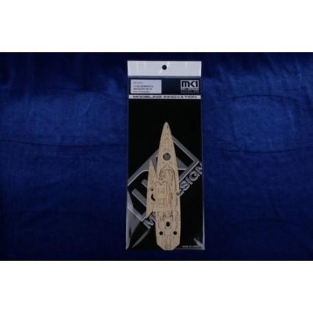 BISMARCK pont en bois (conçu pour les maquettes Trumpeter)