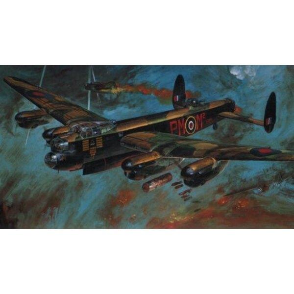 Avro Lancaster B.Mk.I/III. Contient une verrière pré-peinte.