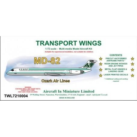 Ozark McDonnell-Douglas MD-82 Kit - Pour plus d'informations, visitez cette page : http://www.aim72.co.uk/page62.html