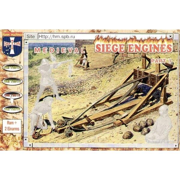 Arme de siège médiéval #1 Ram + 2 Einarms