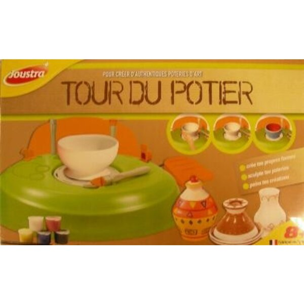 Potter's wheel without transformer