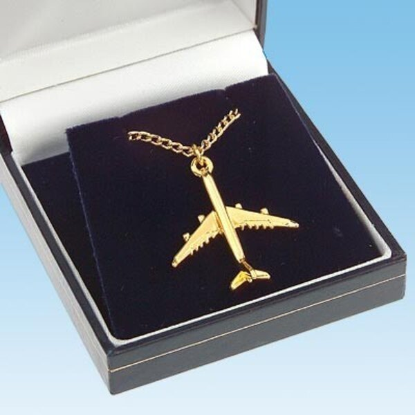 Collier / Pendant : Airbus A340