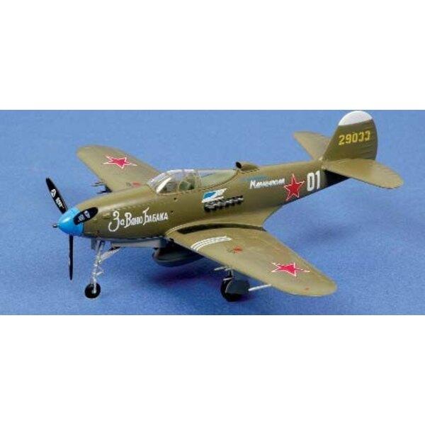 P-39N Airacobra White 01 CCCP