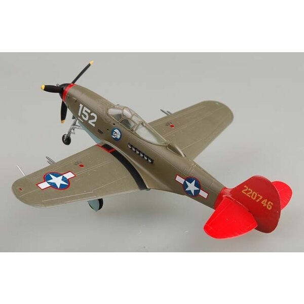 P-39Q Airacobra Red Tails Tuskeegee