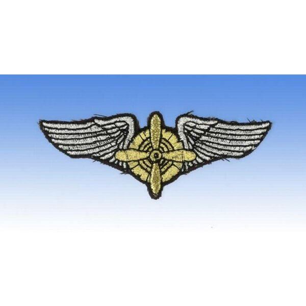 Patch Patent Flight Engineer Wings
