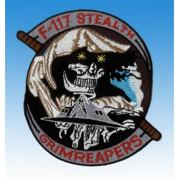 F-117 Stealth Patch Grimreapers