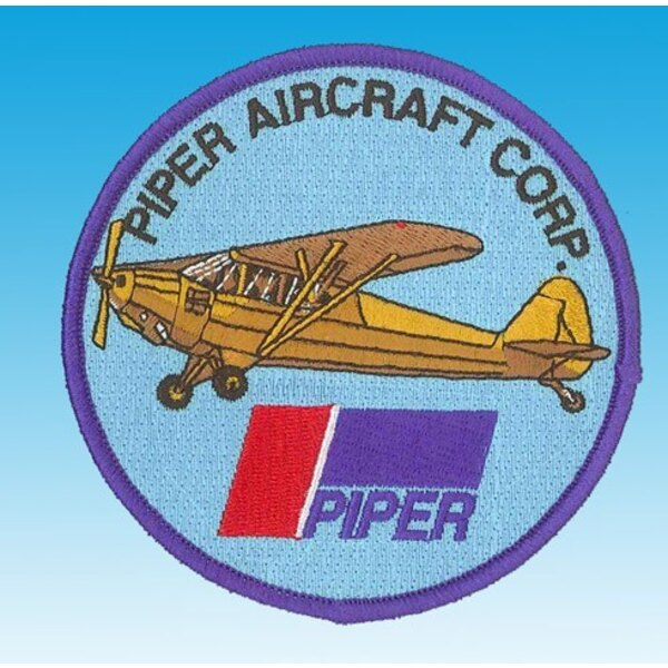 Patch J3 Piper Aircraft