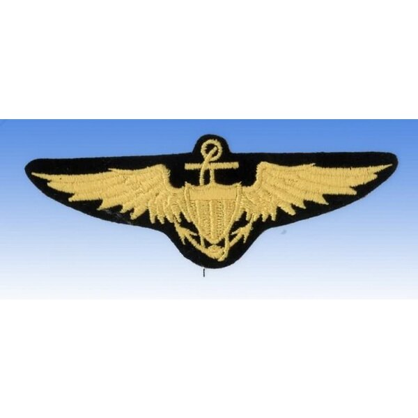 Patch Brevet US Navy Pilot Wings