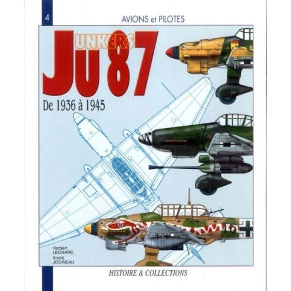 Livre Junker Ju.87 de 1937 à 1945