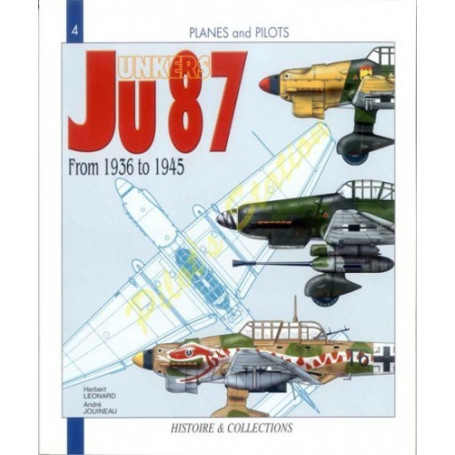 Livre Junkers Ju87 from 1936 to 1945
