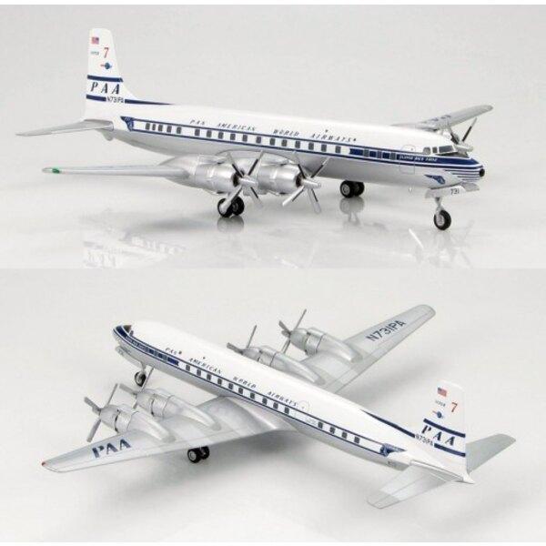 "Douglas DC-7C Pan American World Airways """"Seven Se"