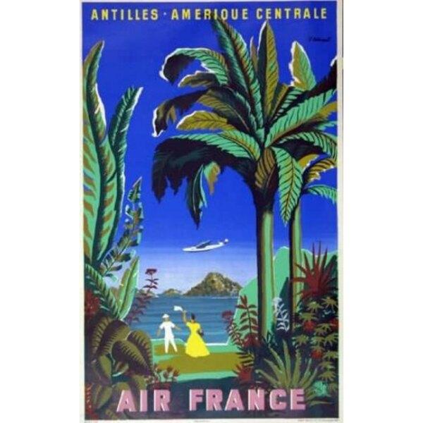 Air France - Antilles Amérique Centrale - B.Villem