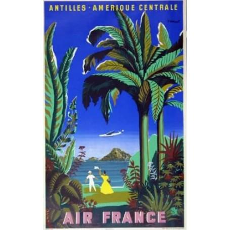 Air France - Antilles Central America - B.Villem