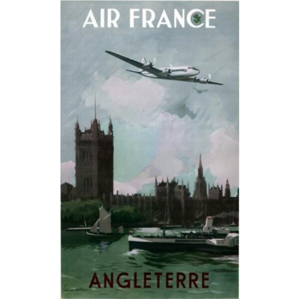 Air France - Angleterre - Guerra 1951