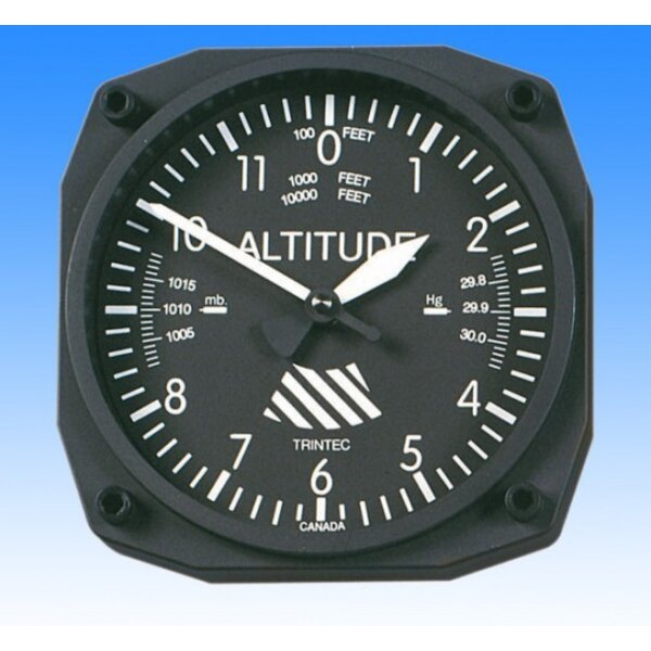Horloge style Altimètre - Wall clock