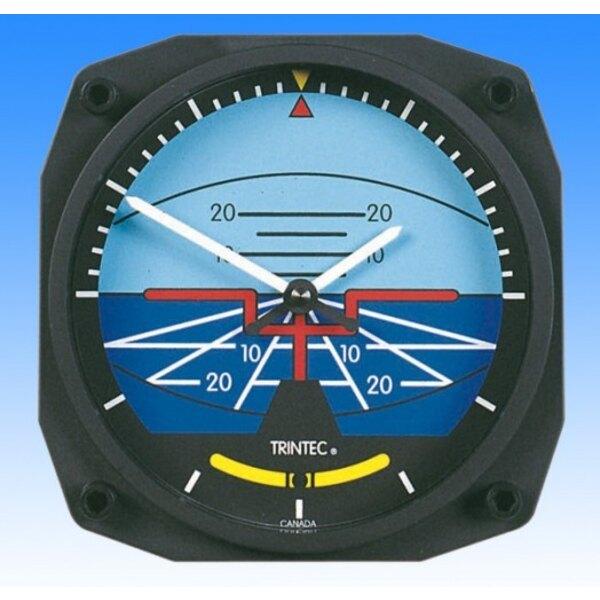 Horloge style Horizon artificiel - Wall clock