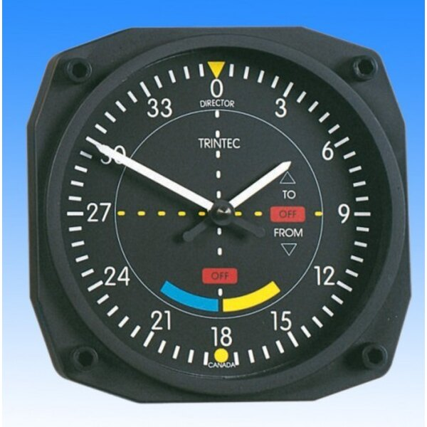 Horloge style VOR - Wall clock