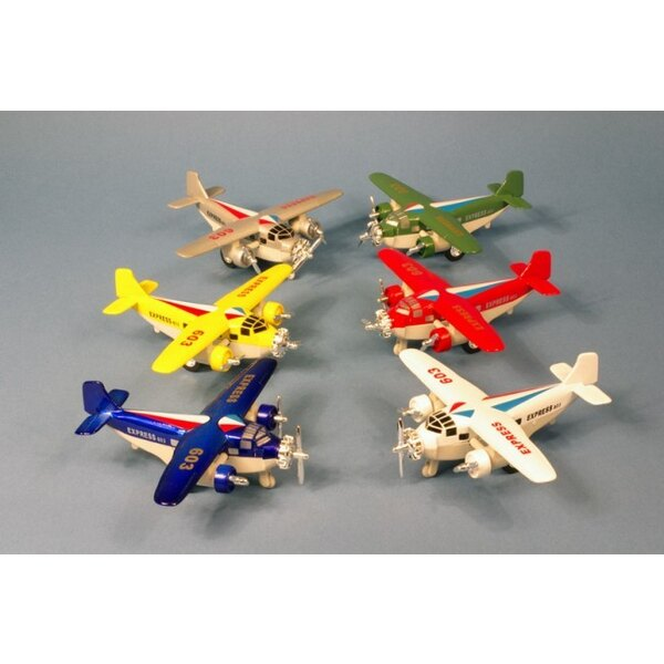 Pull back metal Courier pull back action (6pcs