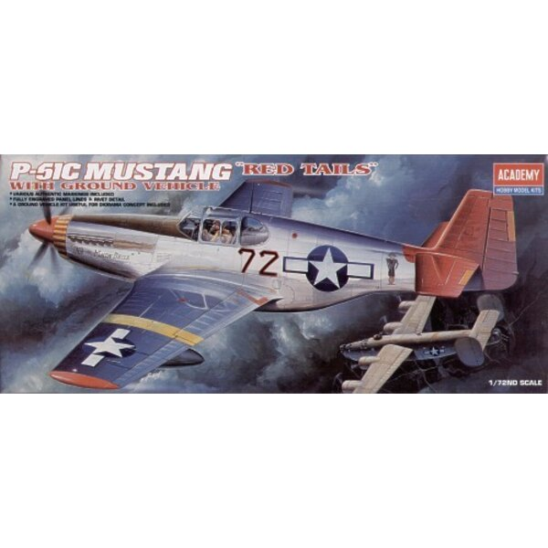 North American P-51C Mustang Red Tails