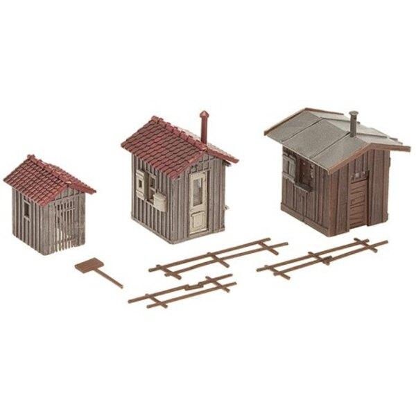 Cabane ferroviaire/remise à outils