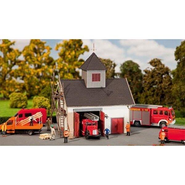 Maison de pompiers de campagne
