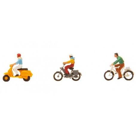Conducteur de vélo ou de mobylette