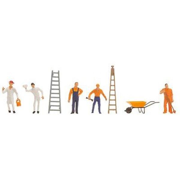 Balayeurs des rues et ouvriers de canal