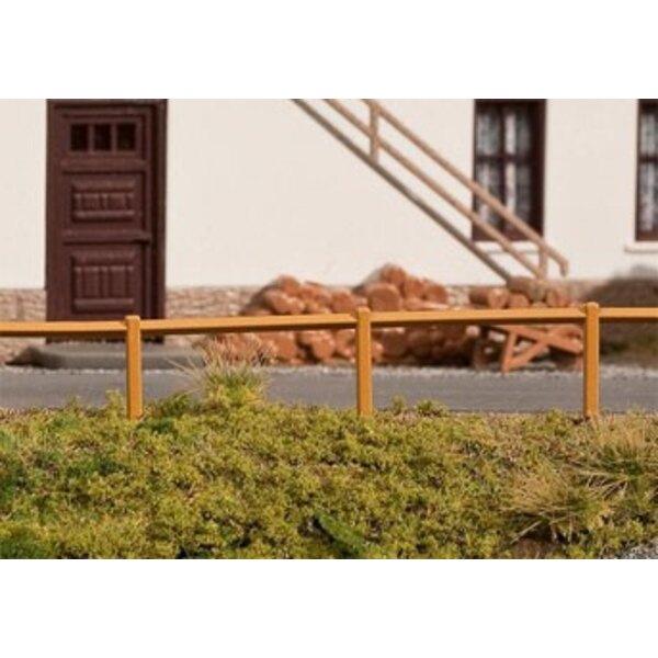Wooden railing, 1242 mm