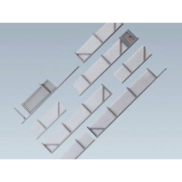 Clôtures métalliques, 1010 mm