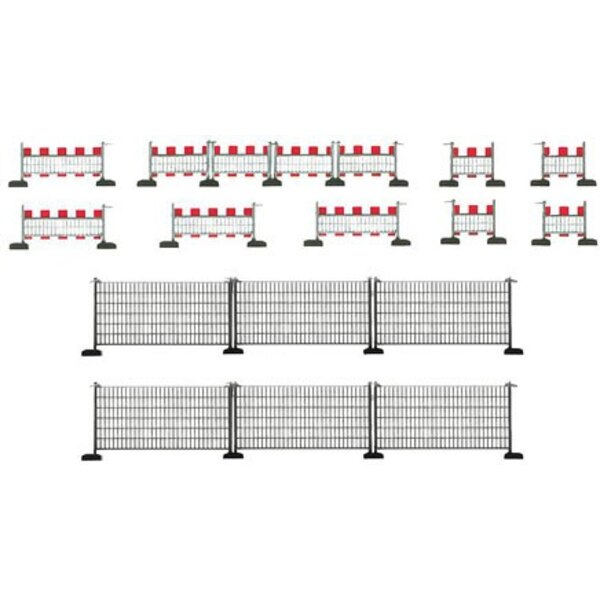 Barrier fences, 460 mm