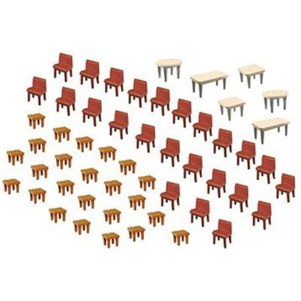 7 Tables et 48 Chaises