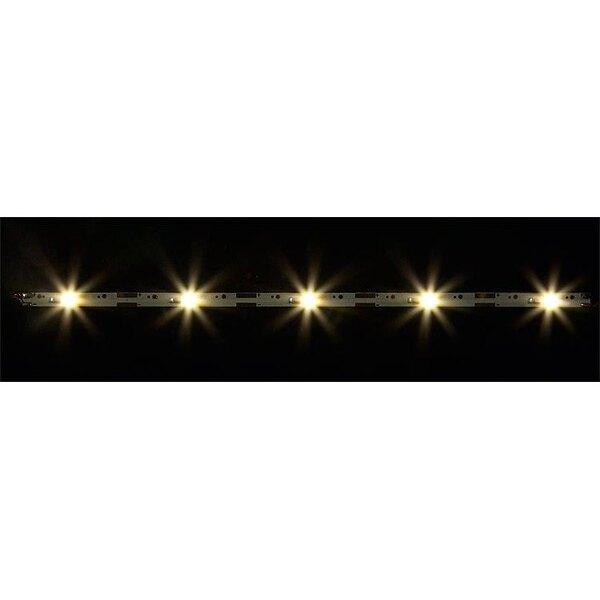 2 Rampes d'éclairage à LED, blanc chaud chacune, 180 mm (2 x)