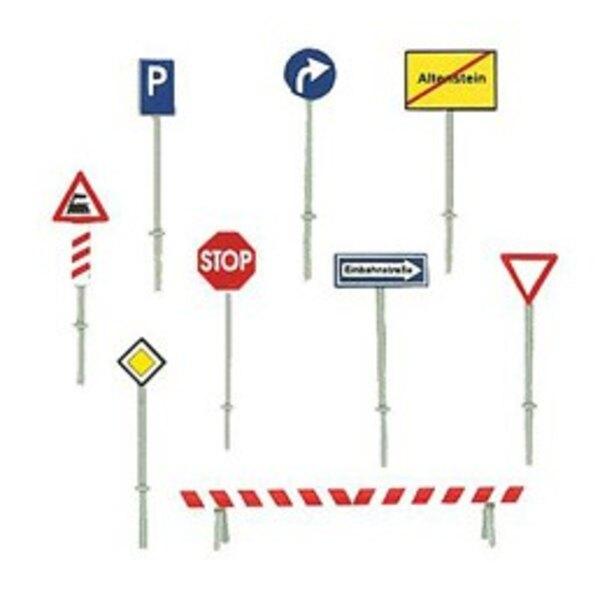 Set panneaux de route