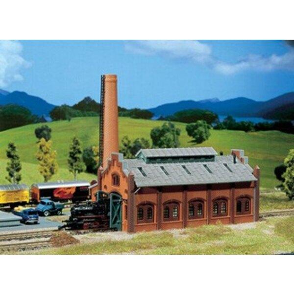 Atelier de réparation pour locomotives