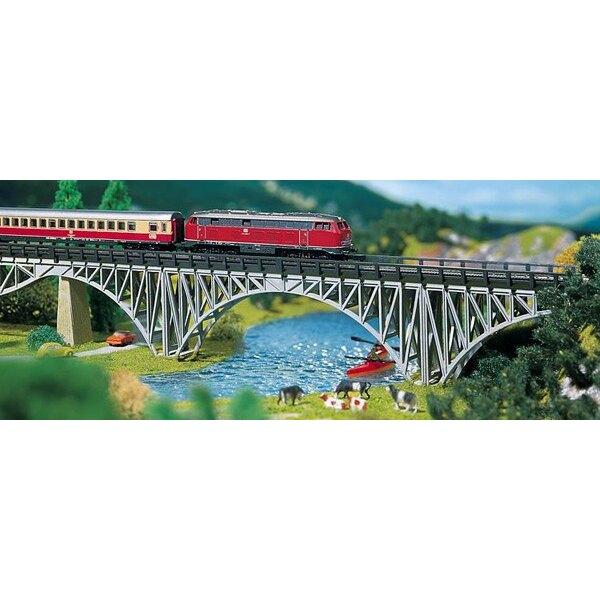 Pont porteur métallique