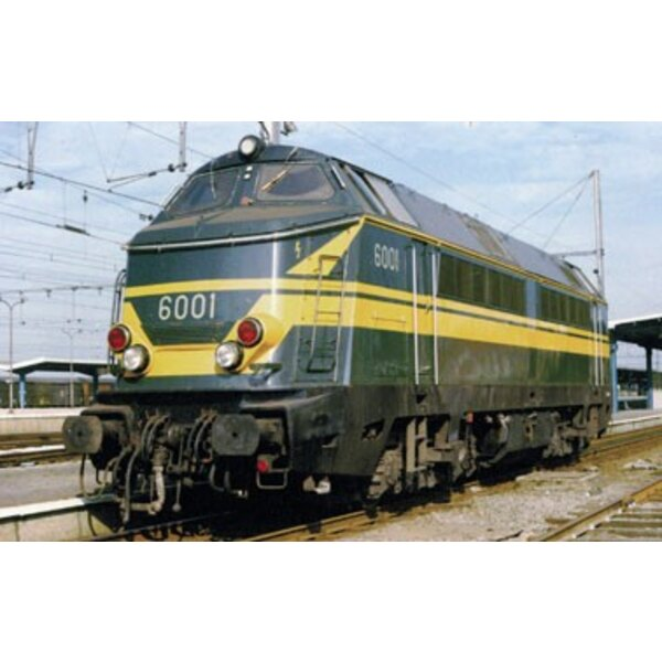 Locomotive series 60 sncb