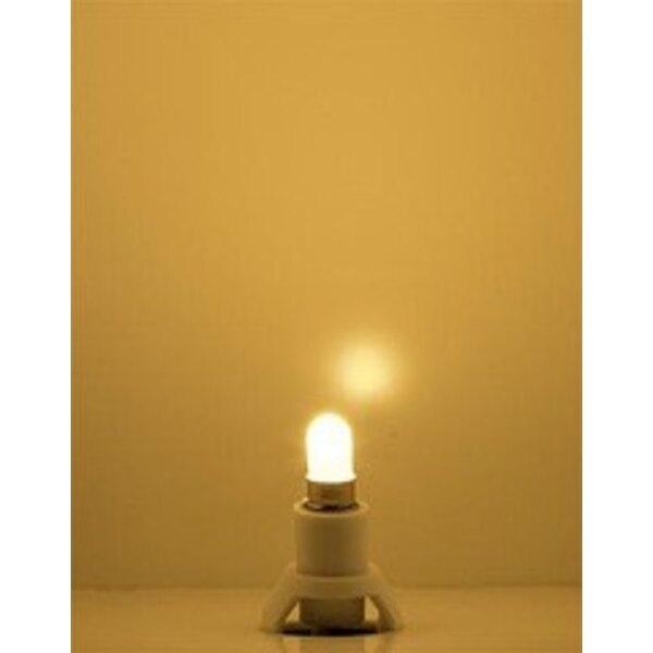 Socle d'éclairage LED, chaud blanc