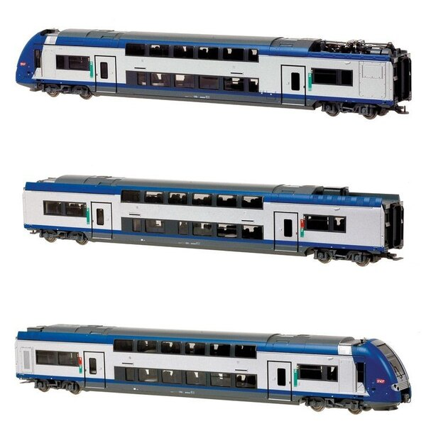 Railcar z 24500 3 cases - TER livery