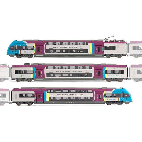 Railcar z 24500 3 cases - Pays de la Loire