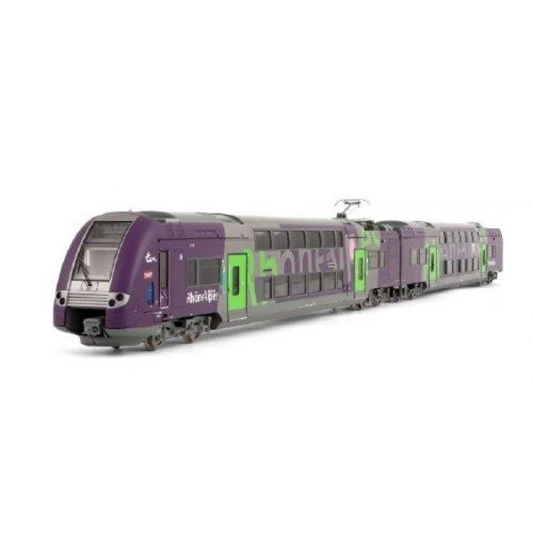 Railcar z 24500 3 cases - Rhone-Alps