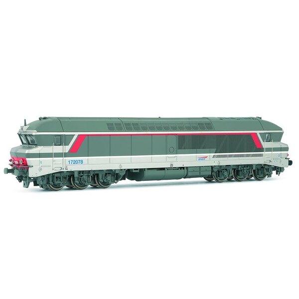 Locomotive 72078 CC delivered multi dc sound system