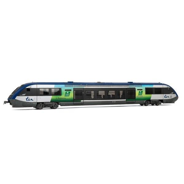 Railcar x 73611, Picardie region