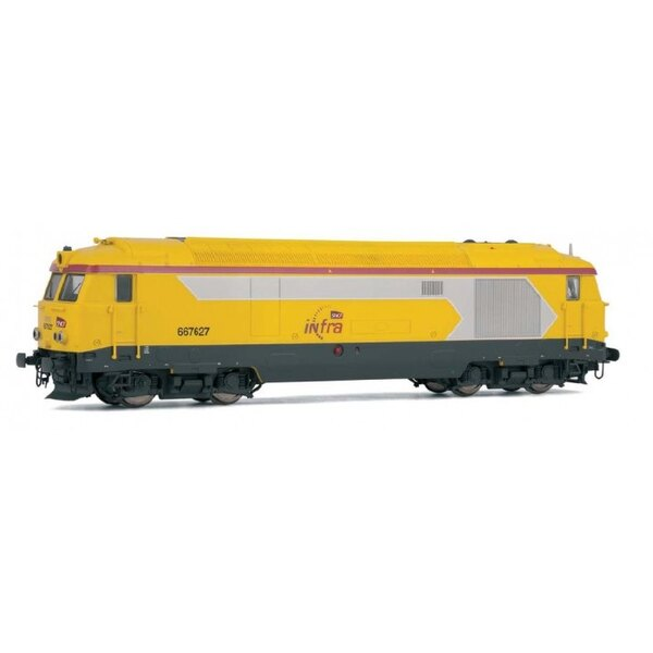Locomotive BB 67400 infra